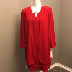 PATRA Red Special Occasion Dress NWT